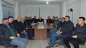 Ak Parti Yönetim Kurulu Toplantısı Yapıldı.