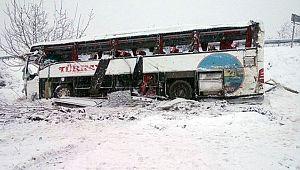 Kargı Yolunda Otobüs Kazası 5 Ölü