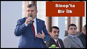 Milletvekili Nazım Maviş Sinop'ta Bir İlki Gerçekleştirdi