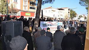 Durağan'dan  Filistine Destek..