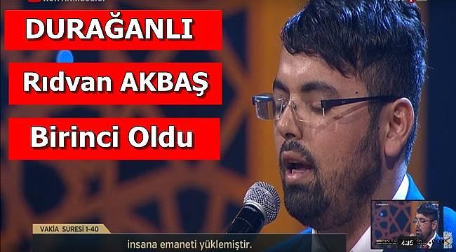 Rıdvan AKBAŞ  1.Oldu.
