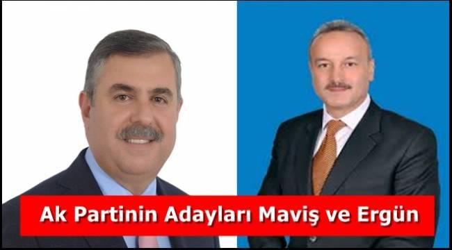 Ak Parti  Sinop'ta Maviş ve ERGÜN dedi.