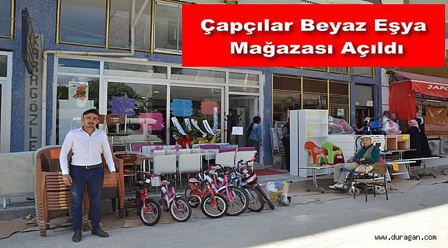 Çapçılar Beyaz Eşya Mağazası Hizmete Açıldı