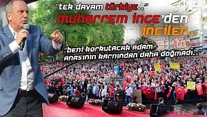Muharrem İnce Sinop'ta Halka Seslendi