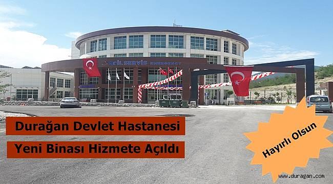 Yeni Hastane Binası Hizmete Açıldı