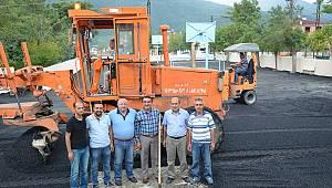 Mehmet Akif Ersoy İlkokulu Bahçesi Asfaltlandı