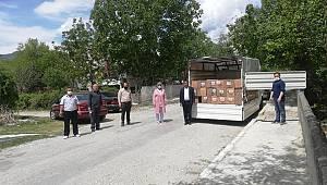 Durağan MHP'den İhtiyaç Sahiplerine Yardım