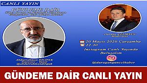 Ünlü Gazeteci-Yazar Abdurrahman Dilipak İle  Canlı Yayın Detaylar..