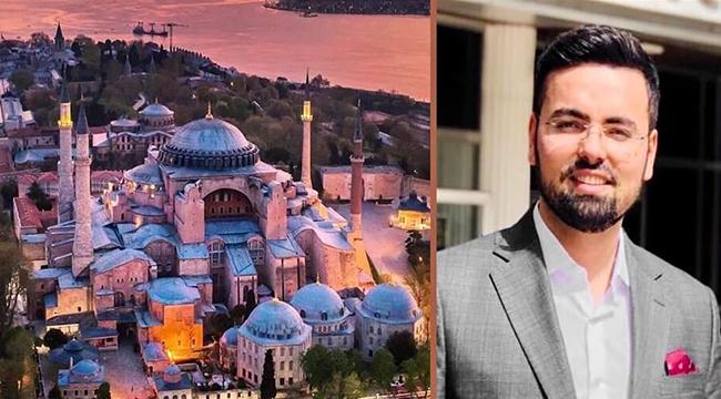 Durağanlı Rıdvan Akbaş Ayasofya Camii Müezzinliğine Atandı !