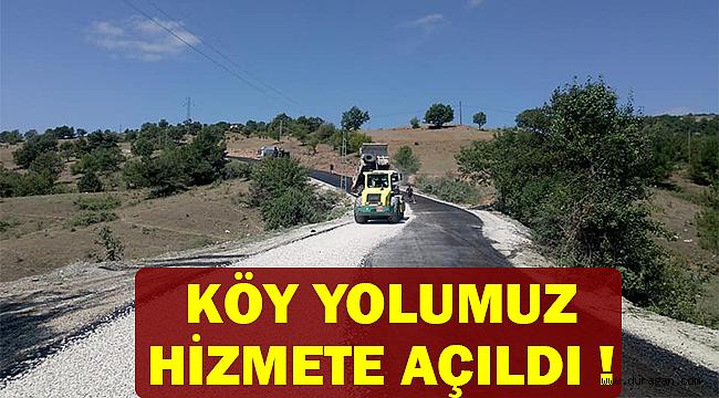 Sinop Özel İdaresi Açıkladı 'Durağan Köy Yolunu Hizmete Açtık'