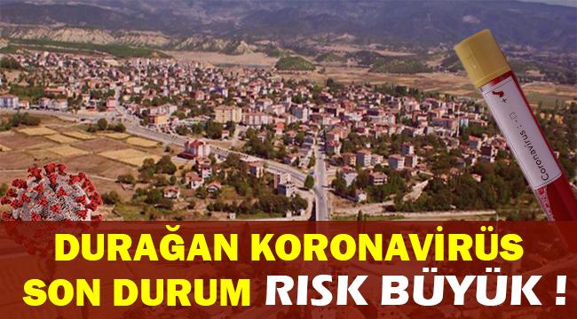 Durağan'da Mahalle Mahalle Koronavirüs Risk Haritası Vakalar Artıyor !