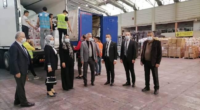 SİNDEF'in Yardımları İzmir'e Ulaştı !