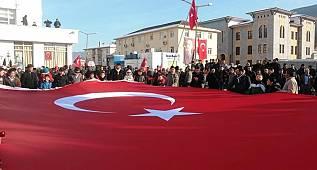Durağan Milli Birlik Yürüyüşünde Bir Araya Geldi.