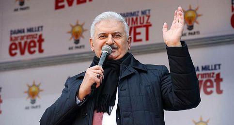 Başbakan Binali YILDIRIM'ın Sinop Mitingi.