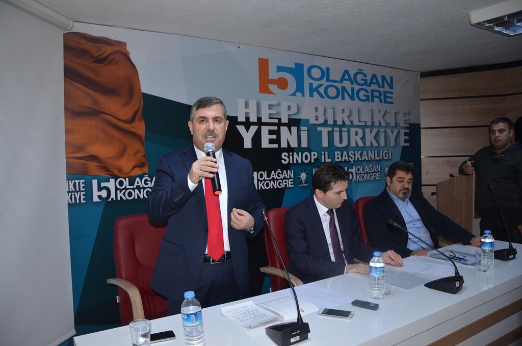 Nazım Maviş'in Aday Adaylık Başvurusu.